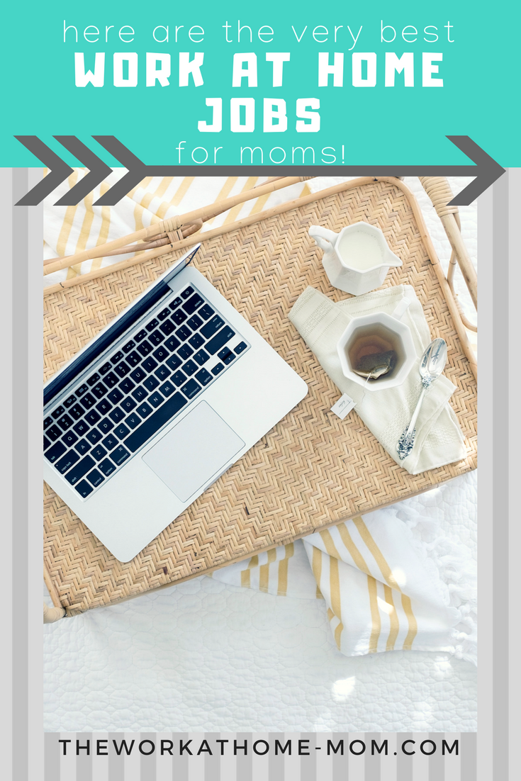 Want to work from home? Here are the best jobs for moms to do from their home office.