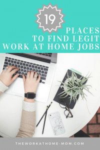 Are you tired of sifting through scams to find legitimate work from home jobs? This huge list of sites is all you'll need to find legit remote work with some of the best companies in the world.