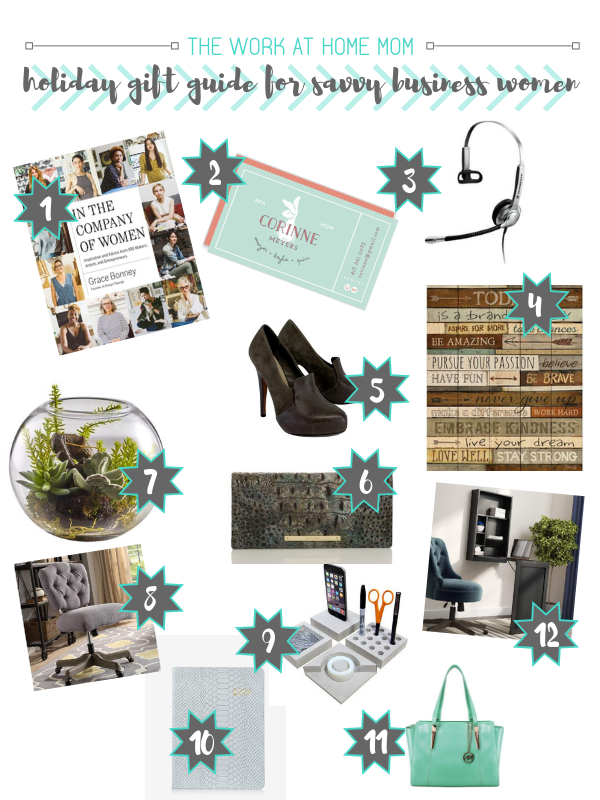 2018 Holiday Gift Guide for Business Women #giftguide #womeninbusiness #mompreneur #mompreneurs #momsinbusiness