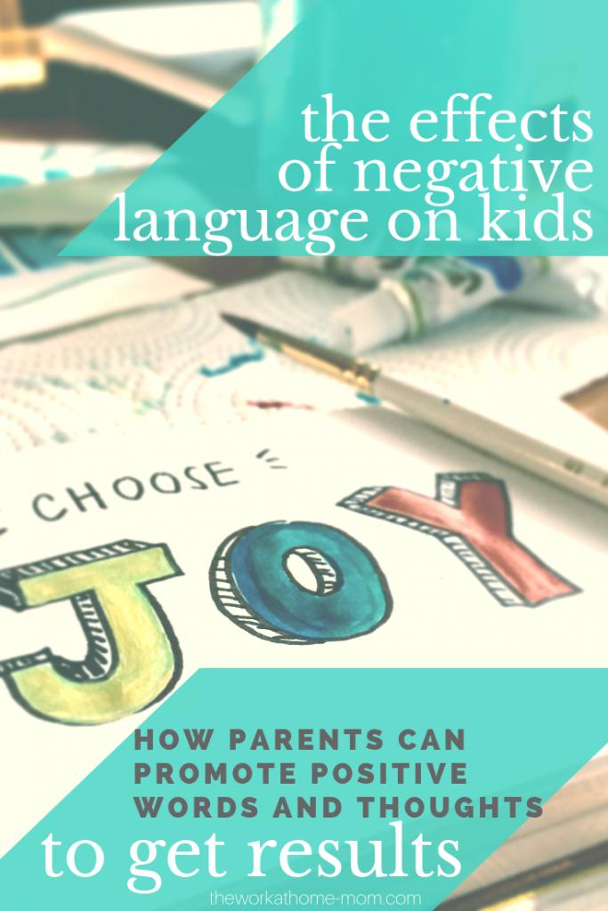Turning negative language into positive language