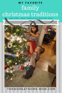 These are my all-time favorite Christmas traditions, past and present, and how I keep my childhood traditions alive with my kids. #bepresent #christmasmemories #familytime #familyiseverything #christmas