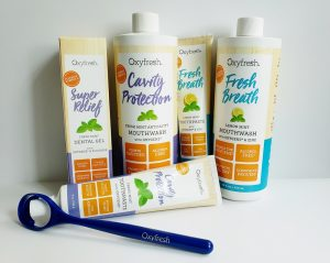 Oxyfresh products can help your kids keep their mouths cleaner...safely!