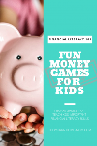 These 7 board games are not only fun, but they also teach kids important money skills they'll need for the rest of their lives!
