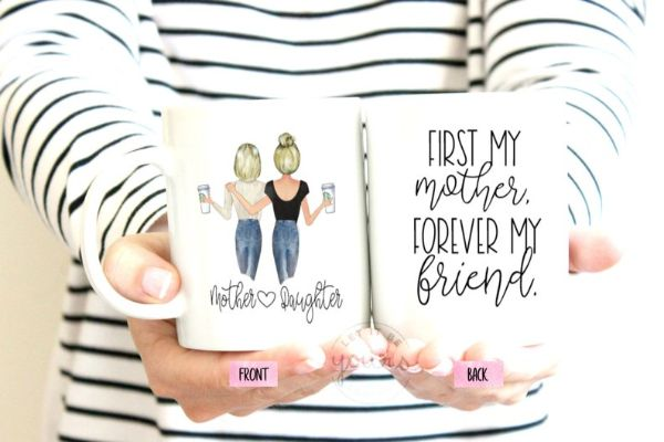 Mother's day mother daughter mug