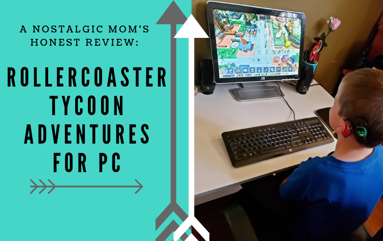RollerCoaster Tycoon Adventures (PC) Review: A Nostalgic Mom's Honest Opinion