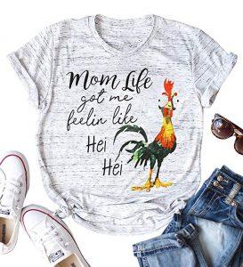 mom life hei hei shirt