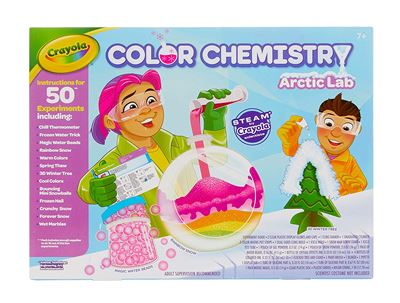 Educational toys - crayola color chemistry lab
