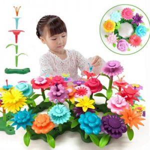 Educational toys - flower garden building set