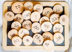 Educational toys - kindergarten sight words