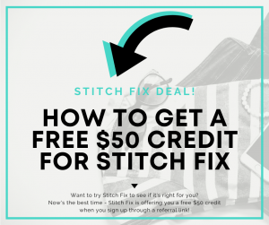 stitch fix deal 50 credit