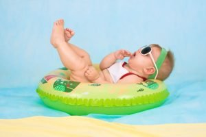 keep baby safe in sun