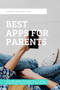 The Best Apps for Parents