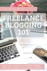 Freelance Blogging 101