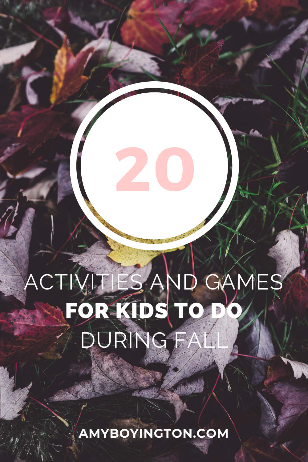 20 Fall Activities and Games for Kids