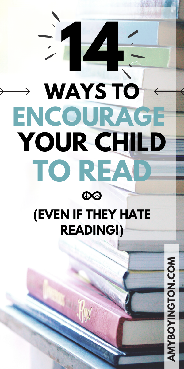 """How to keep children motivated to read when they hate reading. #HowTo #ReadingSkills #EarlyChildhood"""" width="""