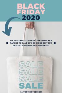 Black Friday 2020 Sales for Parents