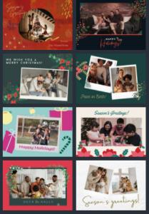 canva holiday card templates