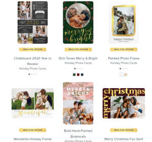 mixbook custom holiday cards
