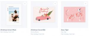 papier christmas cards