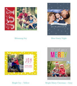 picaboo christmas cards