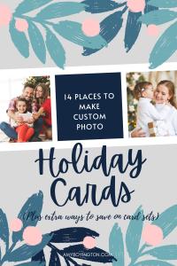 14 Places to Make Custom Christmas Cards