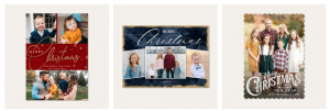 simply to impress holiday cards