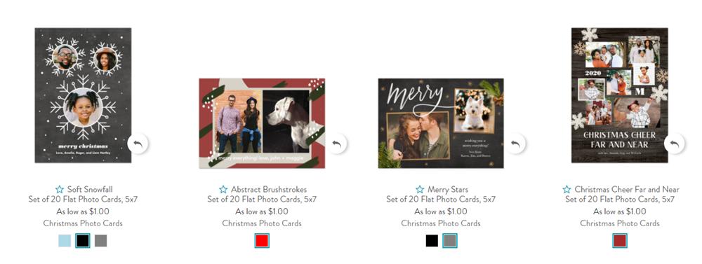 snapfish custom christmas cards
