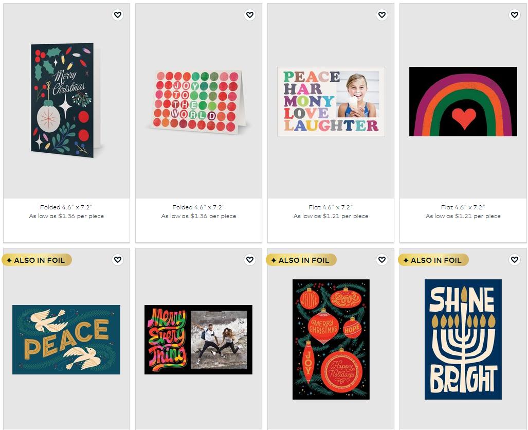 vistaprint custom cards