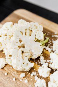 Summer lunch cauliflower rice